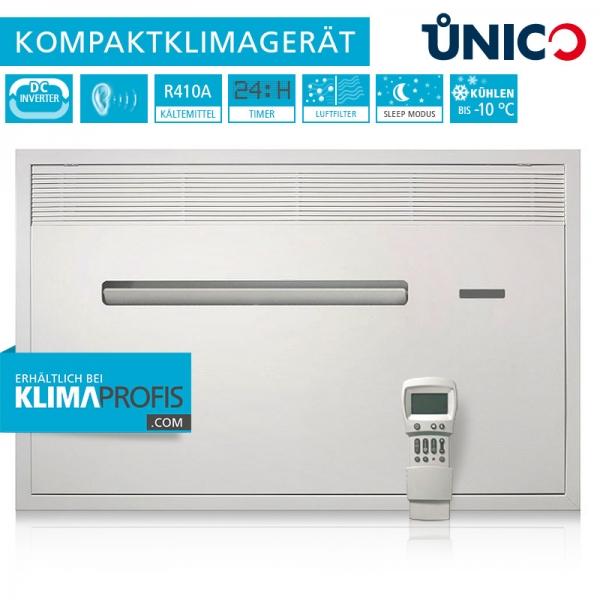 Unterputz-Klimagerät Unico Air Inverter 8 SF Wand-Truhenklimagerät - 2,3 kW nur Kühlen
