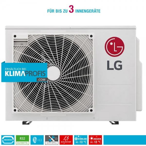 LG MU3R21 Multisplit Smart Inverter Außengerät 7,33 kW für 2-3 Innengeräte