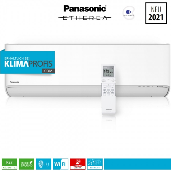 Panasonic Etherea CS-Z50XKEW WiFi R32 Multisplit Wandklimagerät - 5,0 kW
