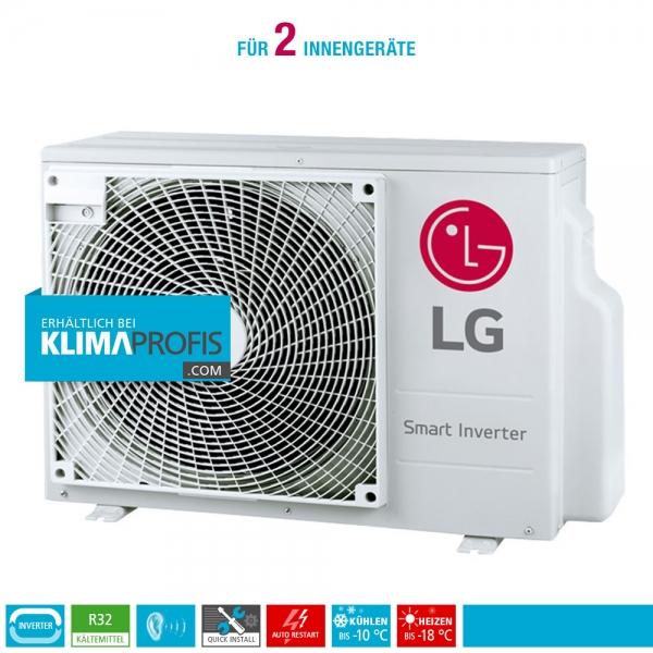 LG MU2R15 Multisplit Smart Inverter Außengerät 4,72 kW für 2 Innengeräte