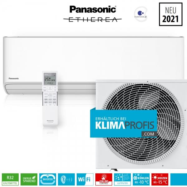 Panasonic Etherea CS-Z20XKEW WiFi R32 Inverter Plus Klimageräte-Set - 2,65 kW