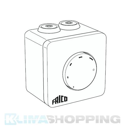 Frico Drehzahlregler für 5 Ventilatoren