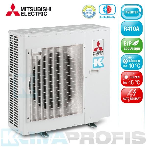 Mitsubishi MXZ-5E102VA-E2 Multi Split Inverter Außengerät 10,2 kW für 2-5 Innengeräte