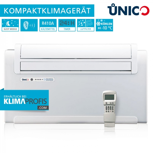 Unico Smart 12 SF Wand-Truhenklimagerät - 2,7 kW nur Kühlen