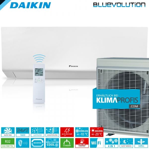 Daikin Perfera FTXM50R R32 WiFi Inverter Wand-Klimageräte-Set 6 kW