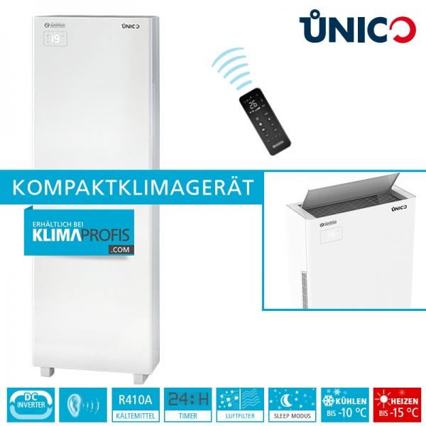 Unico Tower Inverter 12 HP Wand-Truhenklimagerät - 2,95 kW, Kühlen und Heizen