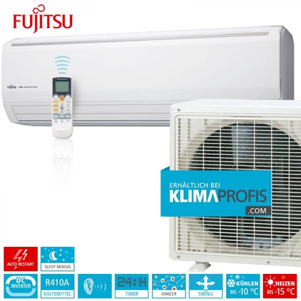 Fujitsu ASYG18LFCA Standard Inverter Wandklimageräte Set - 6 kW