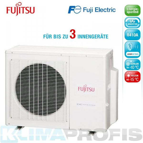 Fujitsu AOYG24 LAT3 Außeneinheit Triple-Inverter - 8,5 kW