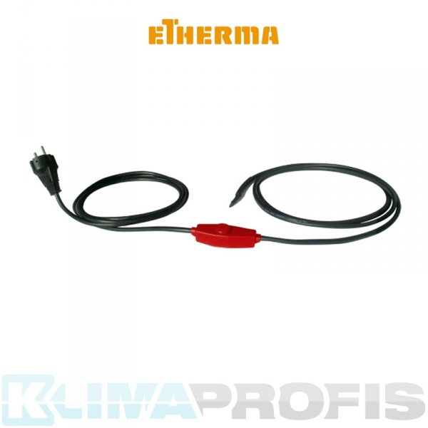 Etherma Frost Protection Cable FPC-12, 204 W, 12 m mit Thermostat