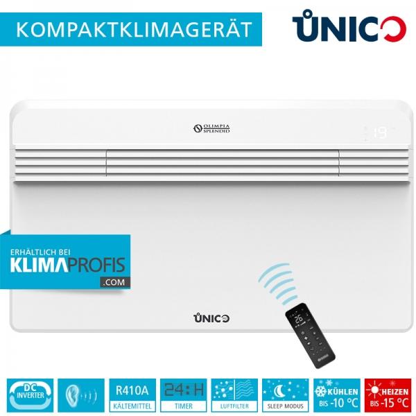 Unico Pro Inverter 14 HP Wand-Truhenklimagerät - max.3,5 kW, Kühlen und Heizen