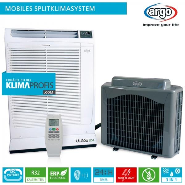 Argo Ulisse 13 DCI mobiles Splitklimagerät - 4 kW