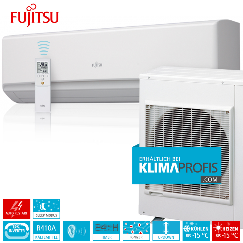 fujitsu klimaanlage zur wandmontage standard inverter set asyg36lmta 10 kw klimaprofis schweiz. Black Bedroom Furniture Sets. Home Design Ideas