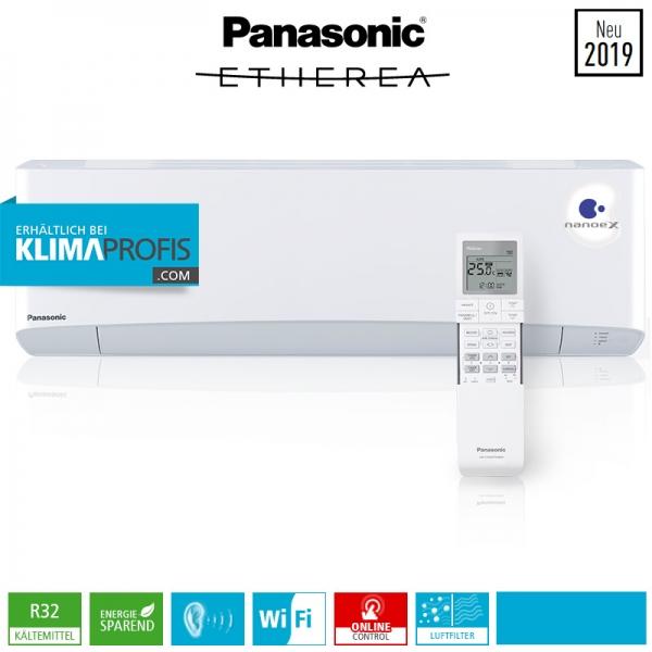 Panasonic Etherea CS-Z20VKEW WiFi R32 Multisplit Wandklimagerät - 2 kW