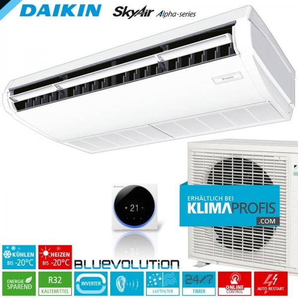 Daikin FHA50A9 R32 Inverter Decken-Unterbaugeräte-Set - 5,0 kW