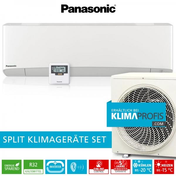 Panasonic CS-Z35TKEA R32 Professional Klimageräte-Set für EDV-Räume - 4 kW