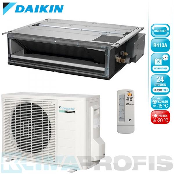 Daikin FDXS50F9 Professional Inverter Deckeneinbaugeräte-Set 5,3 kW