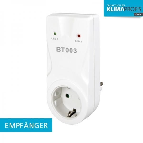 BT003 Empfänger - für Funk-Raumthermostat BT710 - Zwischensteckdose