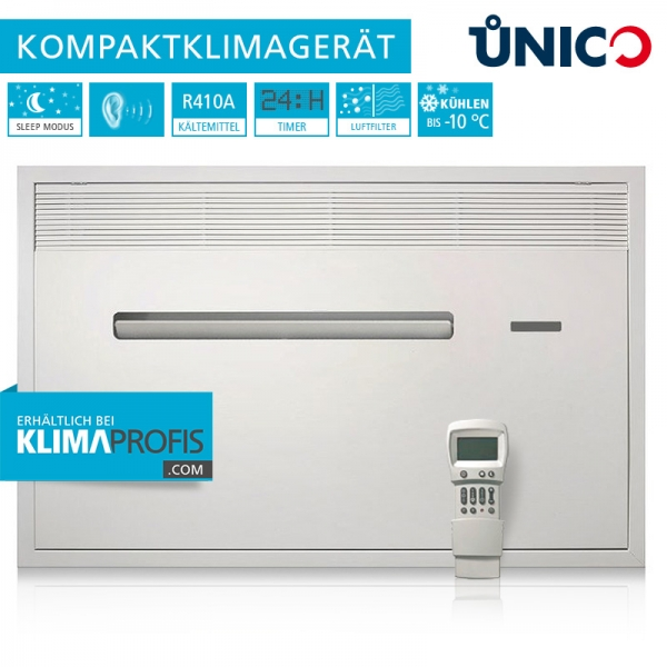 Unterputz-Klimagerät Unico Air 8 SF - 1,8 kW nur Kühlen
