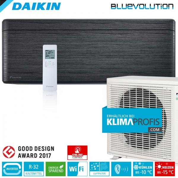 Daikin Stylish FTXA20A WiFi R32 Inverter Wand-Klimageräte-Set 2 kW