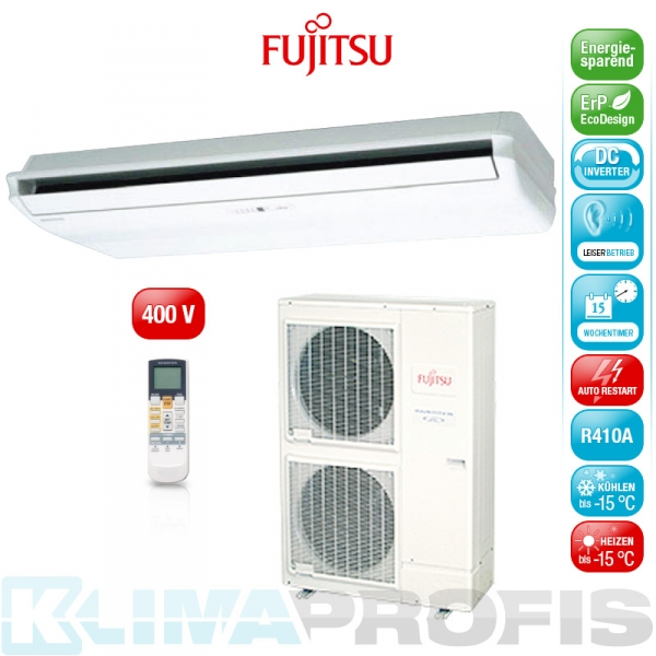 Fujitsu ABYG-54LRTA Decken- Klimageräte Set, 400 V - 16,0 kW