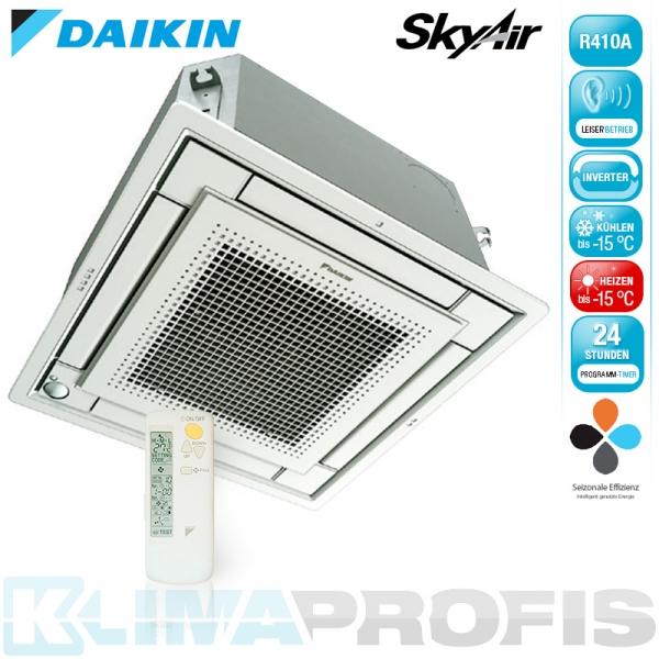 Daikin FFQ60C Sky Air Multisplit Deckenkassette - 5,7 kW inkl. Blende und FB