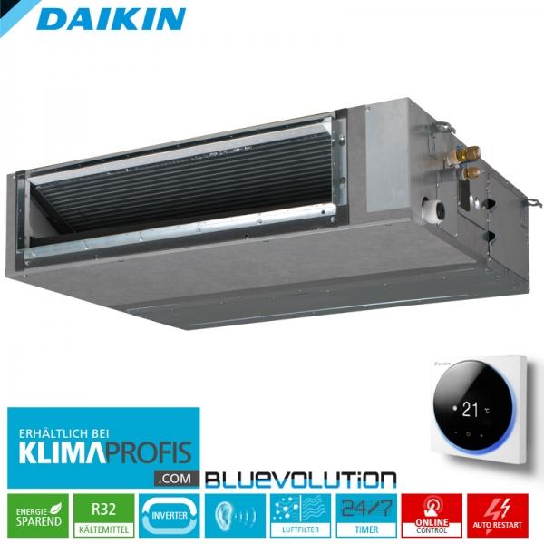 Daikin FBA35A9 Multi-Split R32 Inverter Kanalklimagerät - 3,5 kW