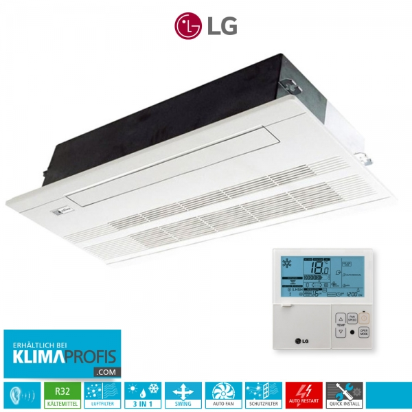 LG MT11R NU1 R32 Multisplit Inverter 1-Wege-Deckenkassette - 3,5 kW