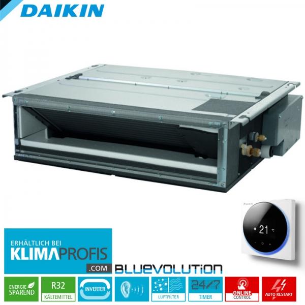 Daikin FDXM25F9 Multi-Split R32 Inverter Kanalklimagerät - 2,4 kW