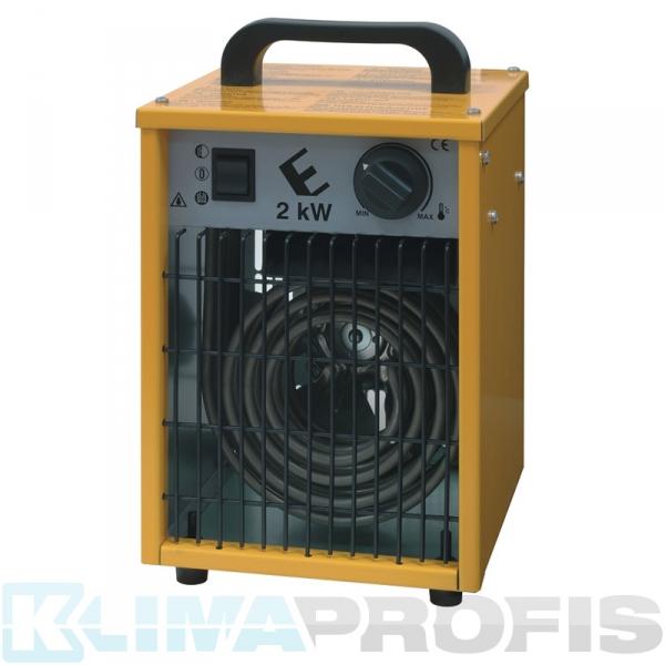 Elektroheizlüfter KSH-2, 2 kW