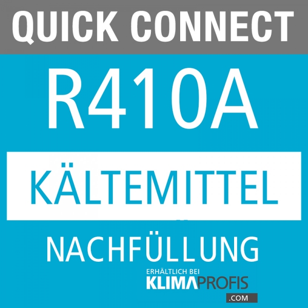 Quick Connect Kältemittel R410 Nachfüllung, 10g