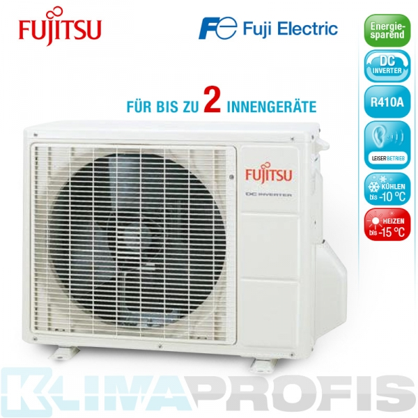 Fujitsu AOYG14 LAC2 Außeneinheit Duo-Inverter - 4,4 kW