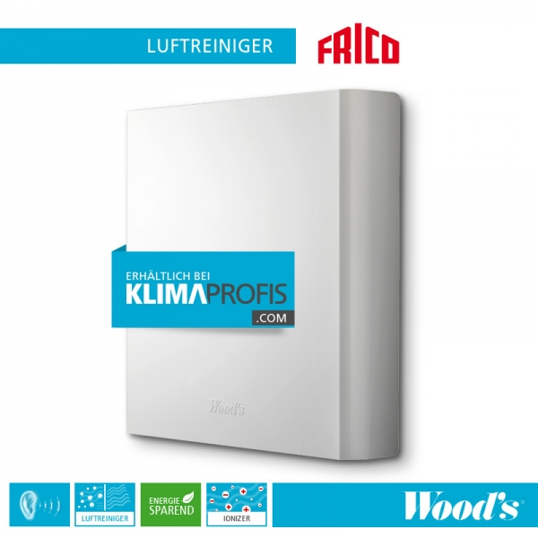Frico Luftreiniger Woods Tall155, 150 m³ / h