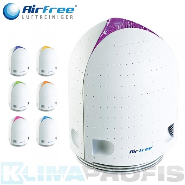 AirFree Luftreiniger Iris 125 mit Farbtherapie-Licht, 50W, 31qm