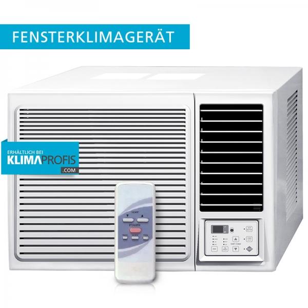 Fensterklimagerät KPCW4-09 R32 - 2,6 kW mit TOSHIBA-Kompressor