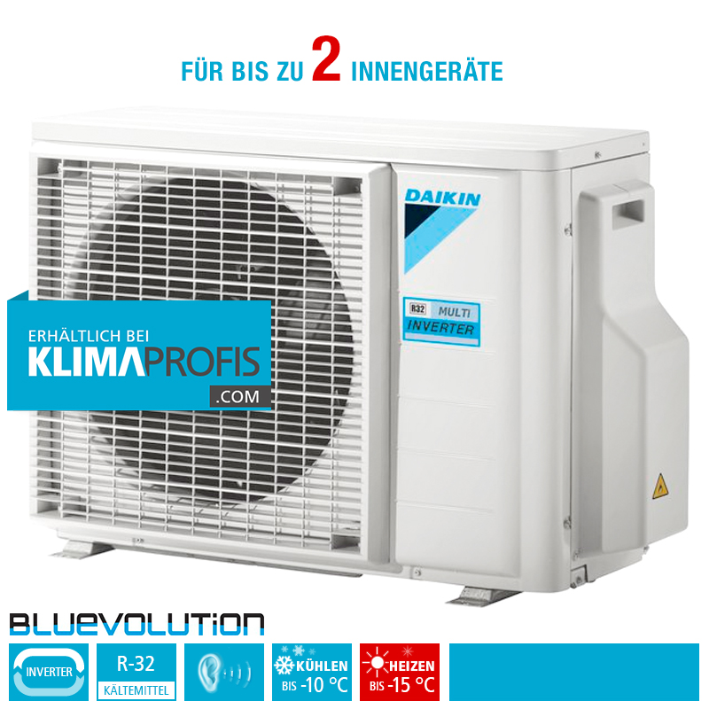 daikin 2mxm40m multisplit inverter au enger t r32 4 6 kw f r 2 innenger te au enger te. Black Bedroom Furniture Sets. Home Design Ideas