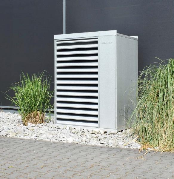 Aquarea Designhaube 7 - 9 kW, verzinkt, Schallreduktion um 5 - 8 dB(A)