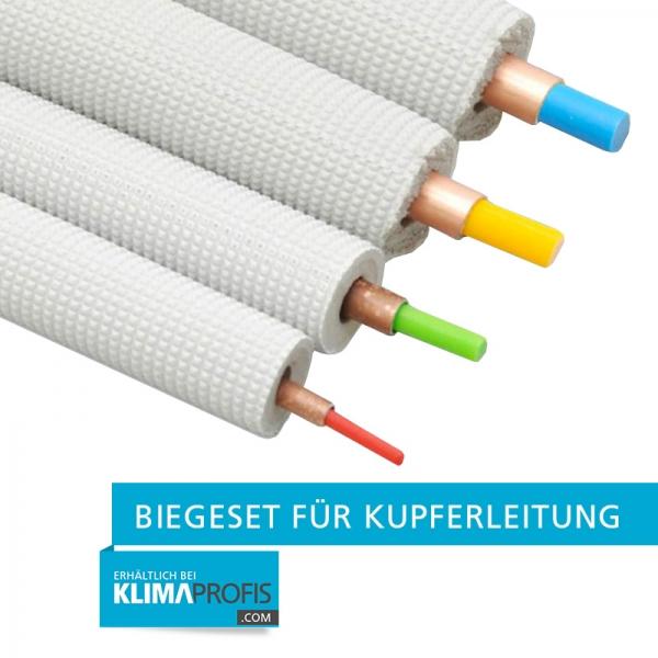"""Biegeset für Kupferleitung - 4x4 m, Rohr 1/4""""-3/8""""-1/2""""-5/8"""""""
