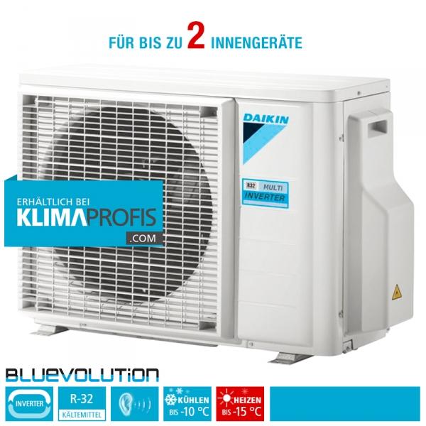 Daikin 2MXM50M9 Multisplit Inverter Außengerät, R32 - 5,5 kW für 2 Innengeräte