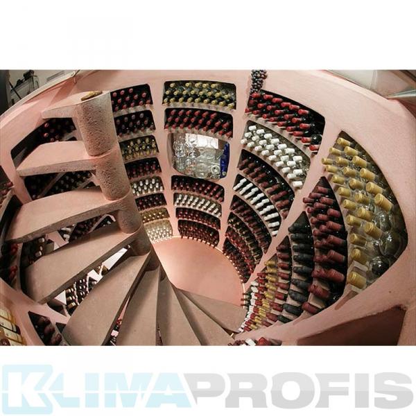 Spiralweinkeller Helicave Maxi Rund 2,45m, 2,50m tief Bausatz