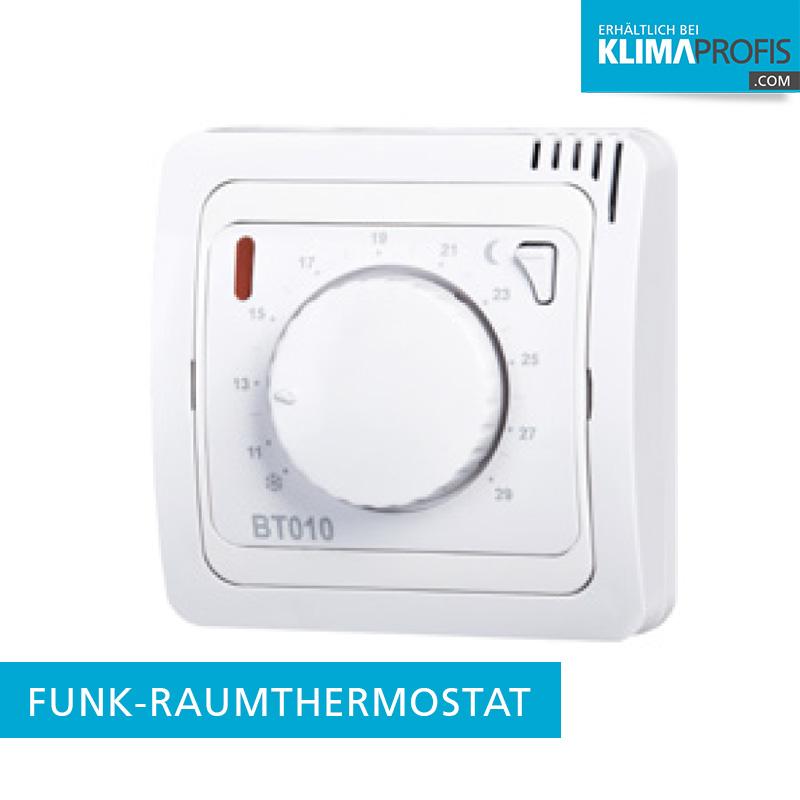 funk raumthermostat bt010 f r infraplate pro. Black Bedroom Furniture Sets. Home Design Ideas