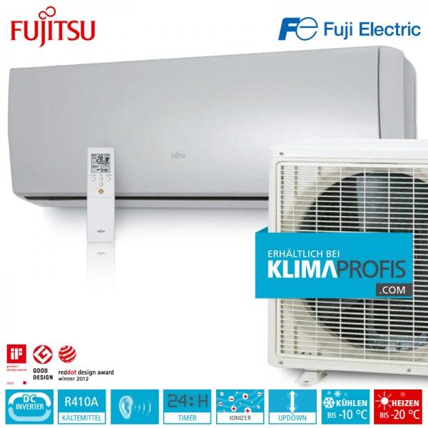 Fujitsu ASYG09LTCA Inverter Design Wandklimageräte Set - 3,5 kW