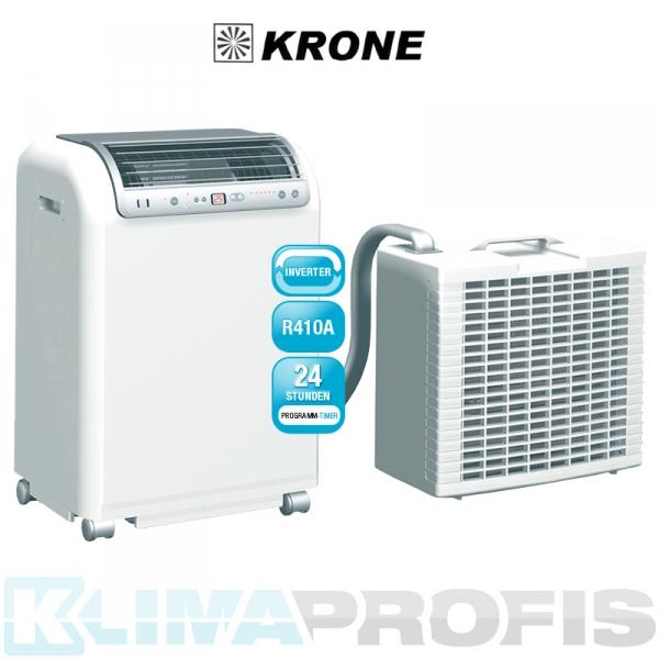 Krone RKL 491 DC EDV- Mobiles Inverter-Raumklimagerät in Splitausführung 4,6 kW