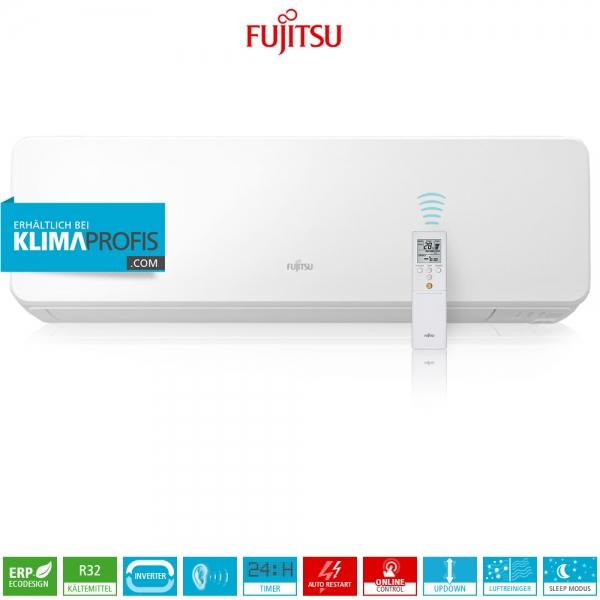 Fujitsu ASYG12KGTB R32 Multi-Split Design Wandklimagerät - 3,4 kW