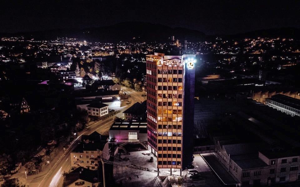 Das Glashaus Hotel in Menziken/Schweiz