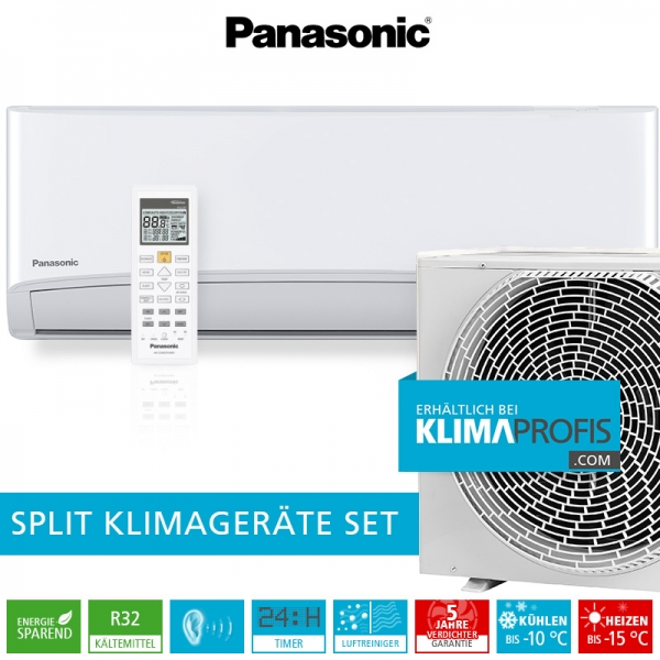 Panasonic CS-TZ35TKEW-1 R32 Standard Inverter Klimageräte-Set - 3,9 kW