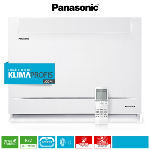 Panasonic CS-Z50UFEAW R32 Multi-Split Inverter Mini-Standtruhe - 5 kW