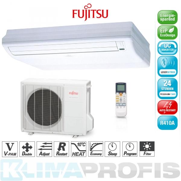 Fujitsu ABYG 24 LVT Stand-/Decken- Klimageräte Set - 8,0 kW