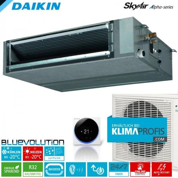 Daikin FBA60A9 R32 Inverter Kanalklimageräte-Set - 6,0 kW