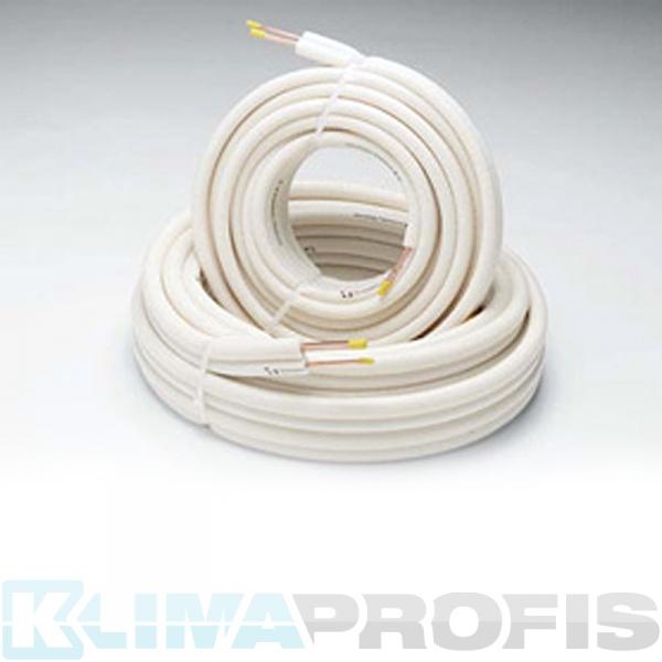 Kältemittelleitung Einzelrohr, 6mm, 25 Meter Ring