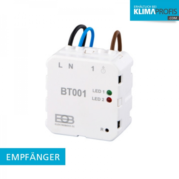 BPT001 Empfänger für BPT710 - AP Funk-Raumthermostat